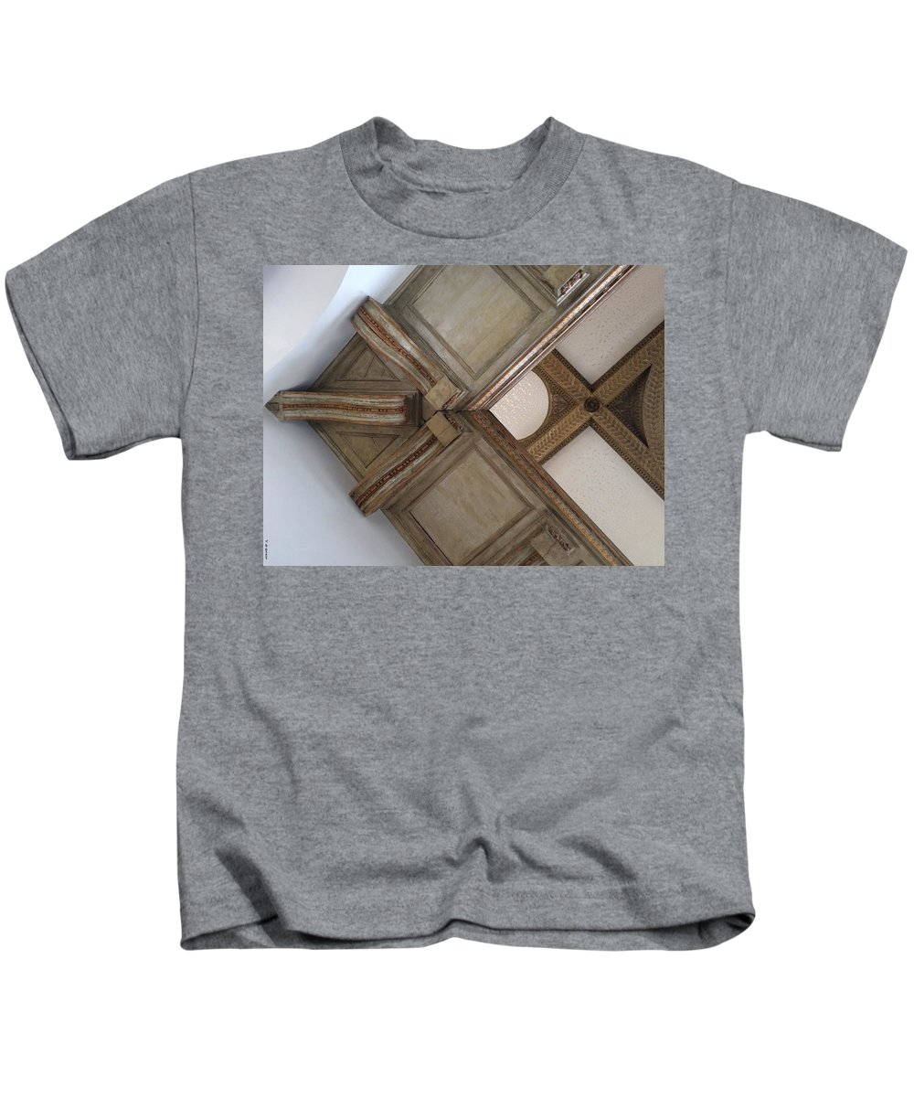 Wood Kids T-Shirt featuring the photograph Wood Ornament by Vera De Gernier