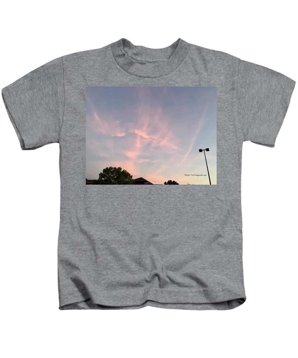 Photography Kids T-Shirt featuring the photograph Presence by Tim Tietgen