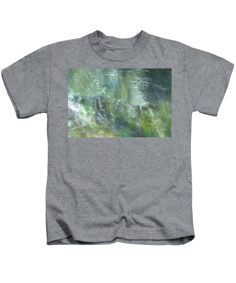 River Kids T-Shirt featuring the photograph River Spirits by Jo Stephen