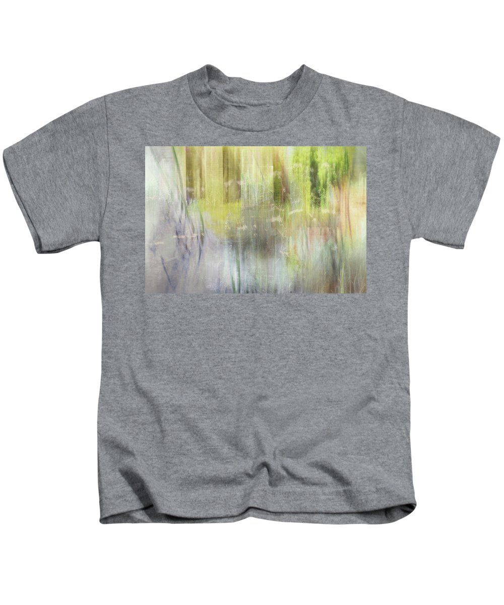 River Kids T-Shirt featuring the photograph Riverside Ruin by Jo Stephen