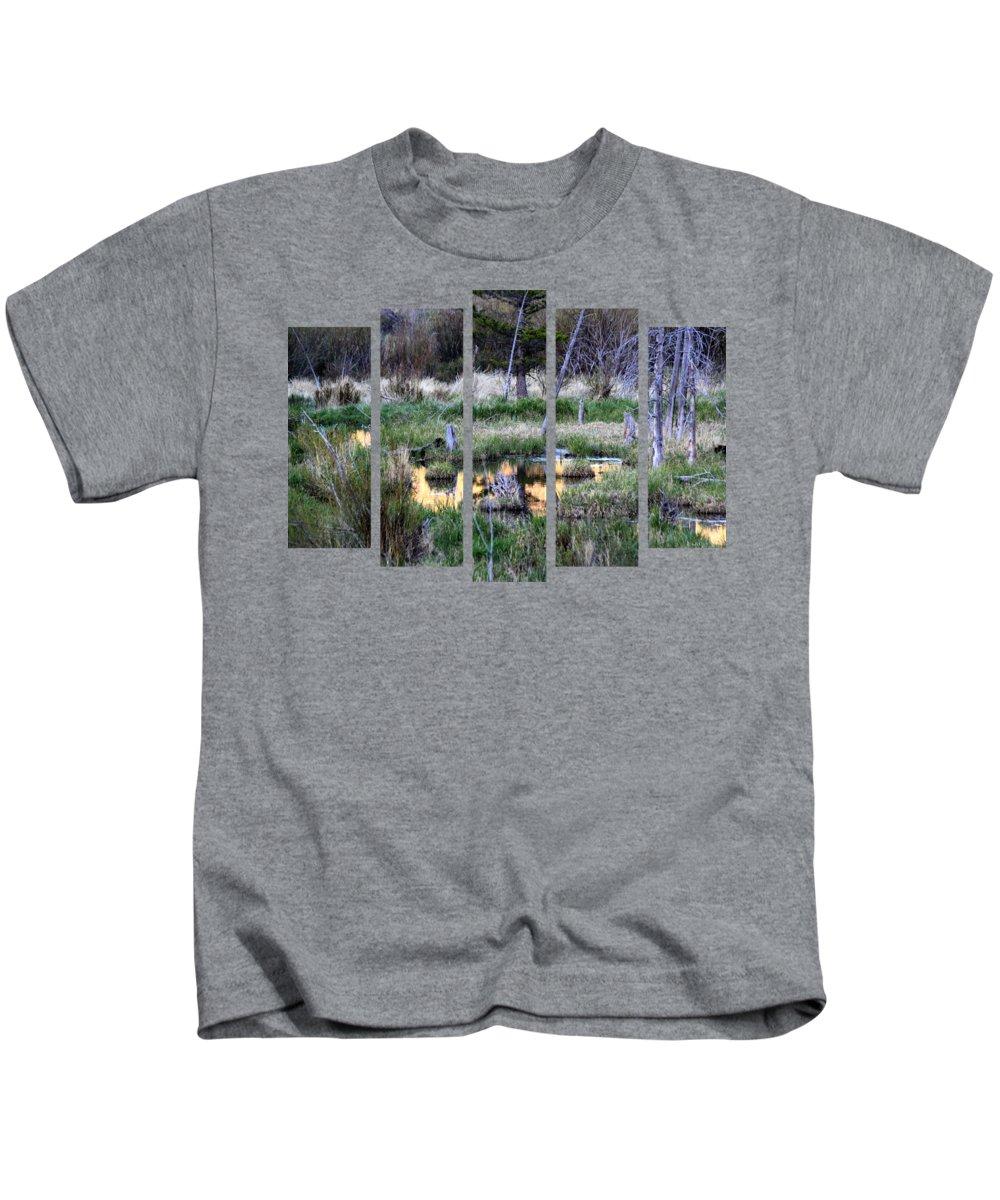 Pine Bark Kids T-Shirts