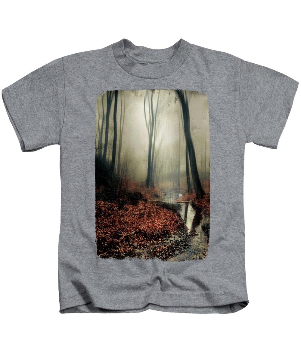 Landscape Kids T-Shirt featuring the photograph Sounds Of Silence by Dirk Wuestenhagen