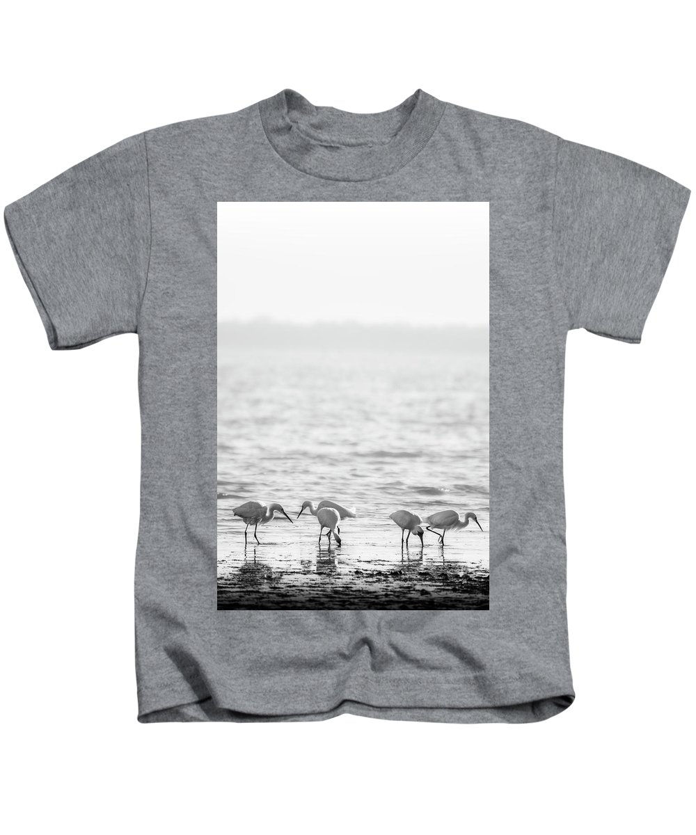 Blumwurks Kids T-Shirt featuring the photograph Togetherness by Matthew Blum