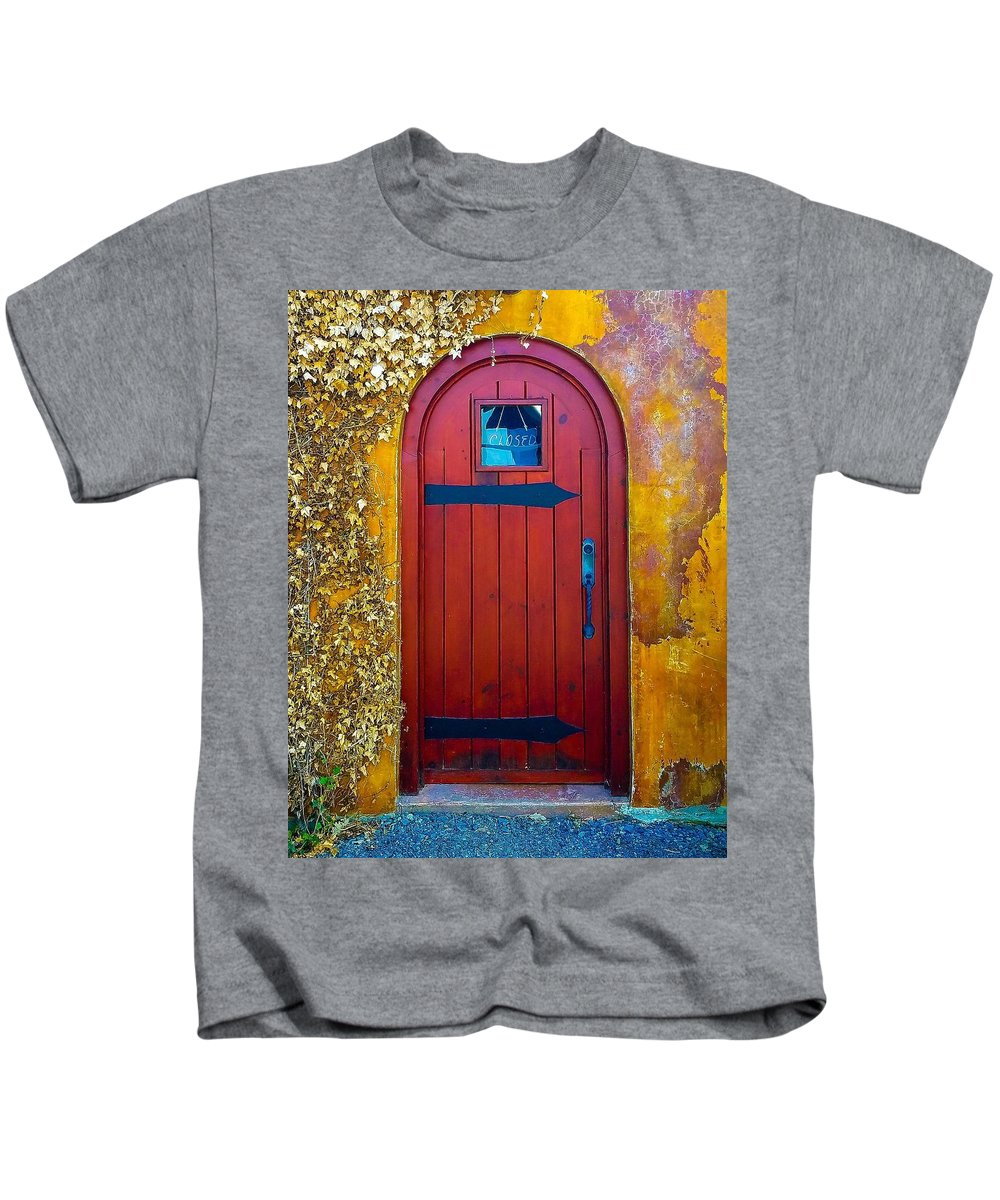 Ivy Kids T-Shirt featuring the photograph Where Now by Jennifer Loncz