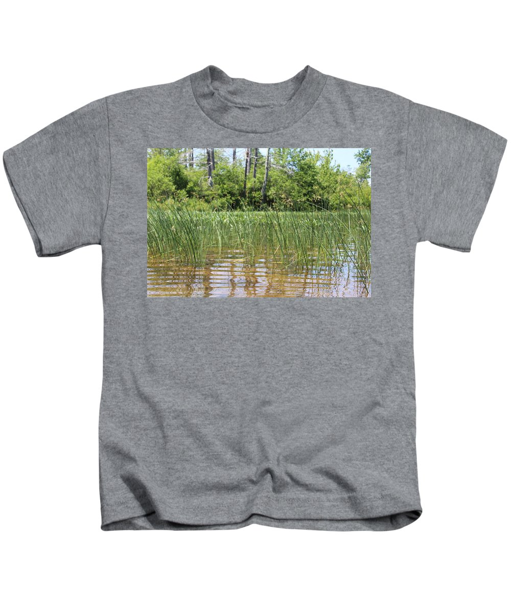 Lake Kids T-Shirt featuring the photograph Wild Waters by Brittany Galipeau