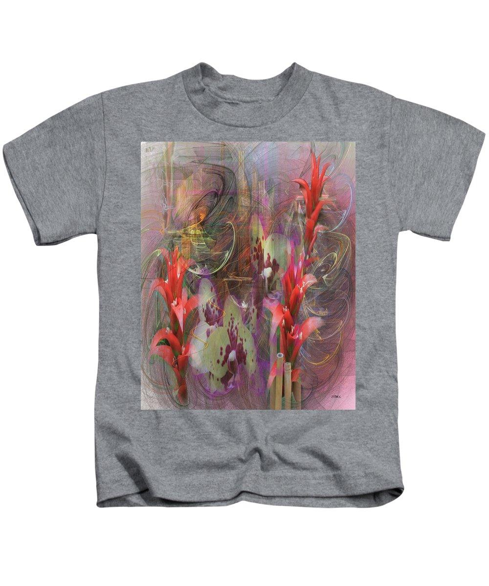 Chosen Ones Kids T-Shirt featuring the digital art Chosen Ones by John Robert Beck