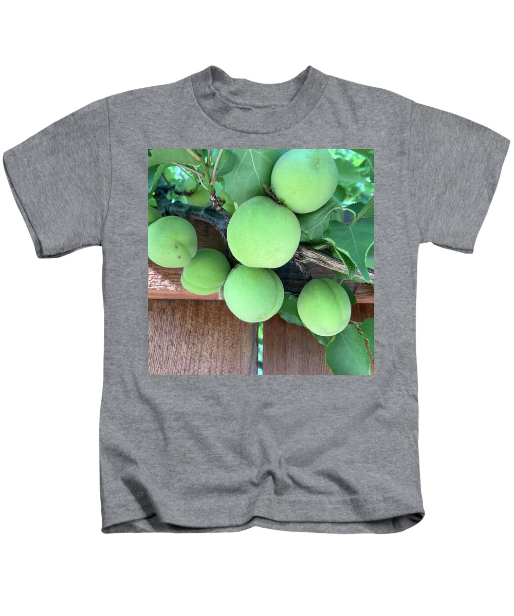 Apricot Kids T-Shirt featuring the photograph Dependability by Shannon Grissom