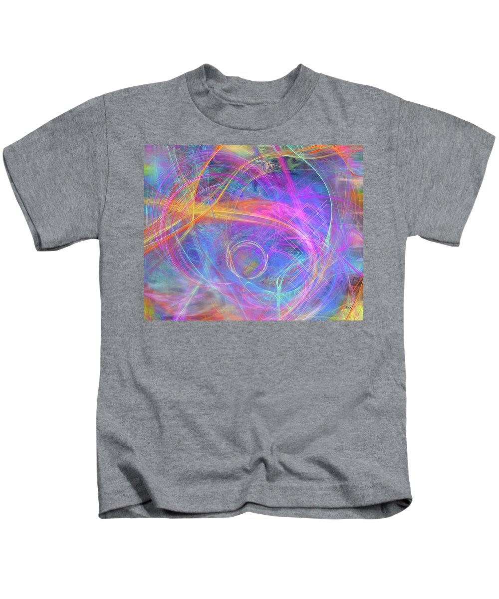 Mystic Beginning Kids T-Shirt featuring the digital art Mystic Beginning by John Robert Beck