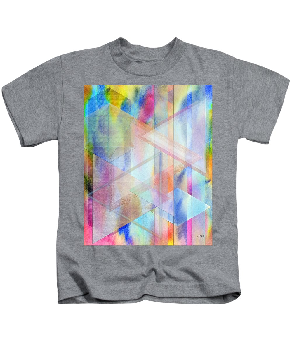Pastoral Moment Kids T-Shirt featuring the digital art Pastoral Moment by John Robert Beck