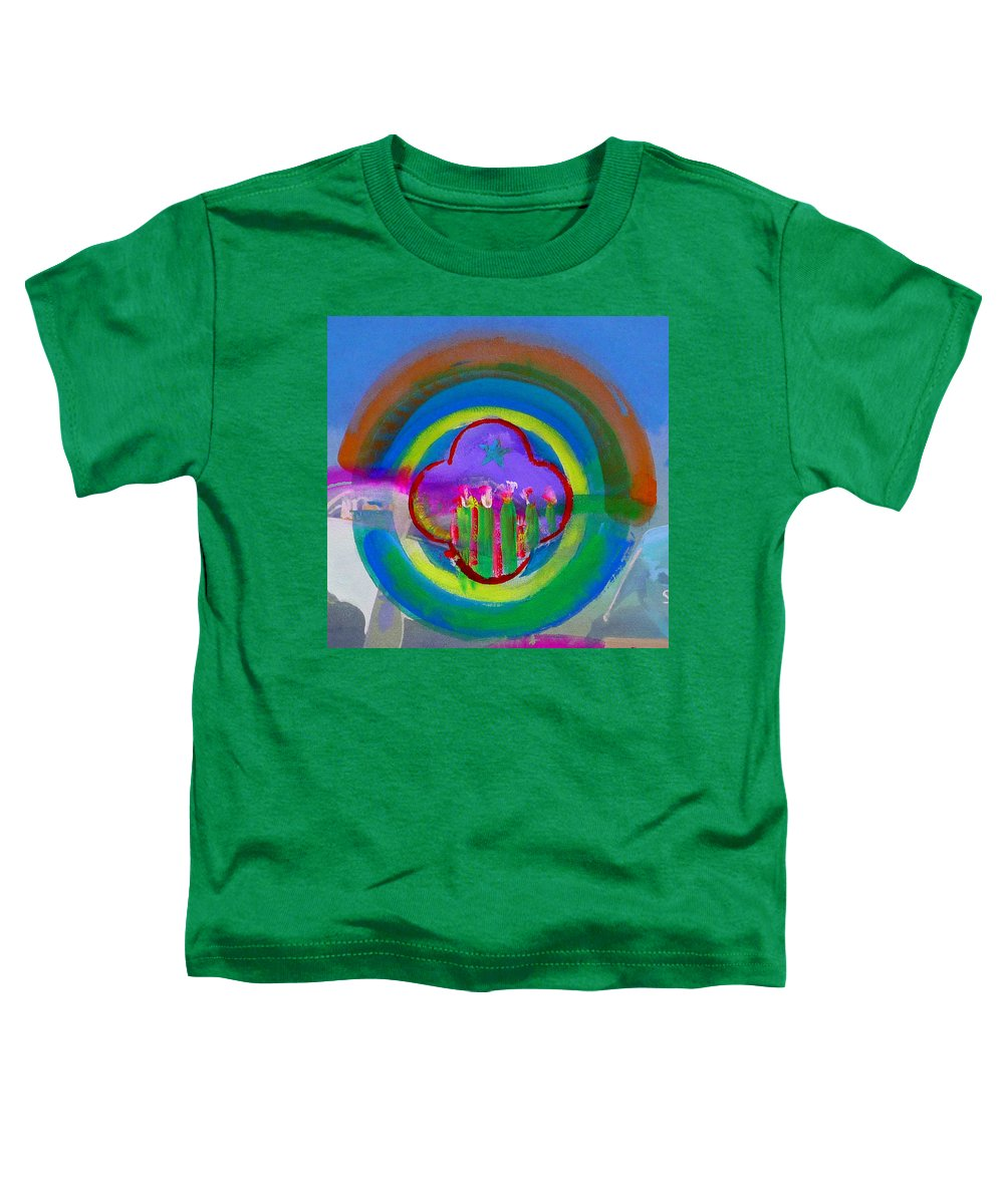 Love Toddler T-Shirt featuring the painting American Spring by Charles Stuart