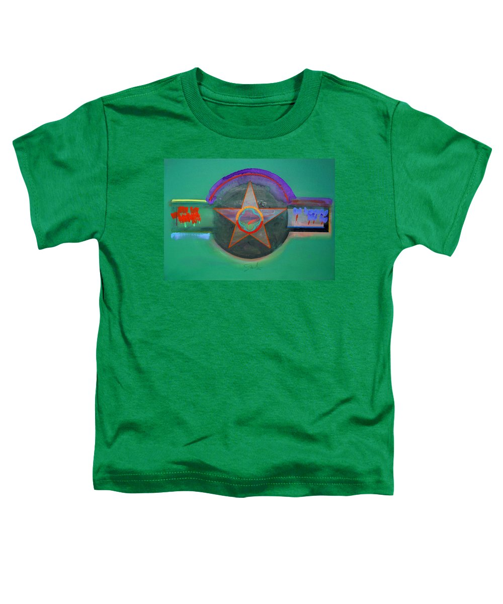 Star Toddler T-Shirt featuring the painting Arlington Green by Charles Stuart