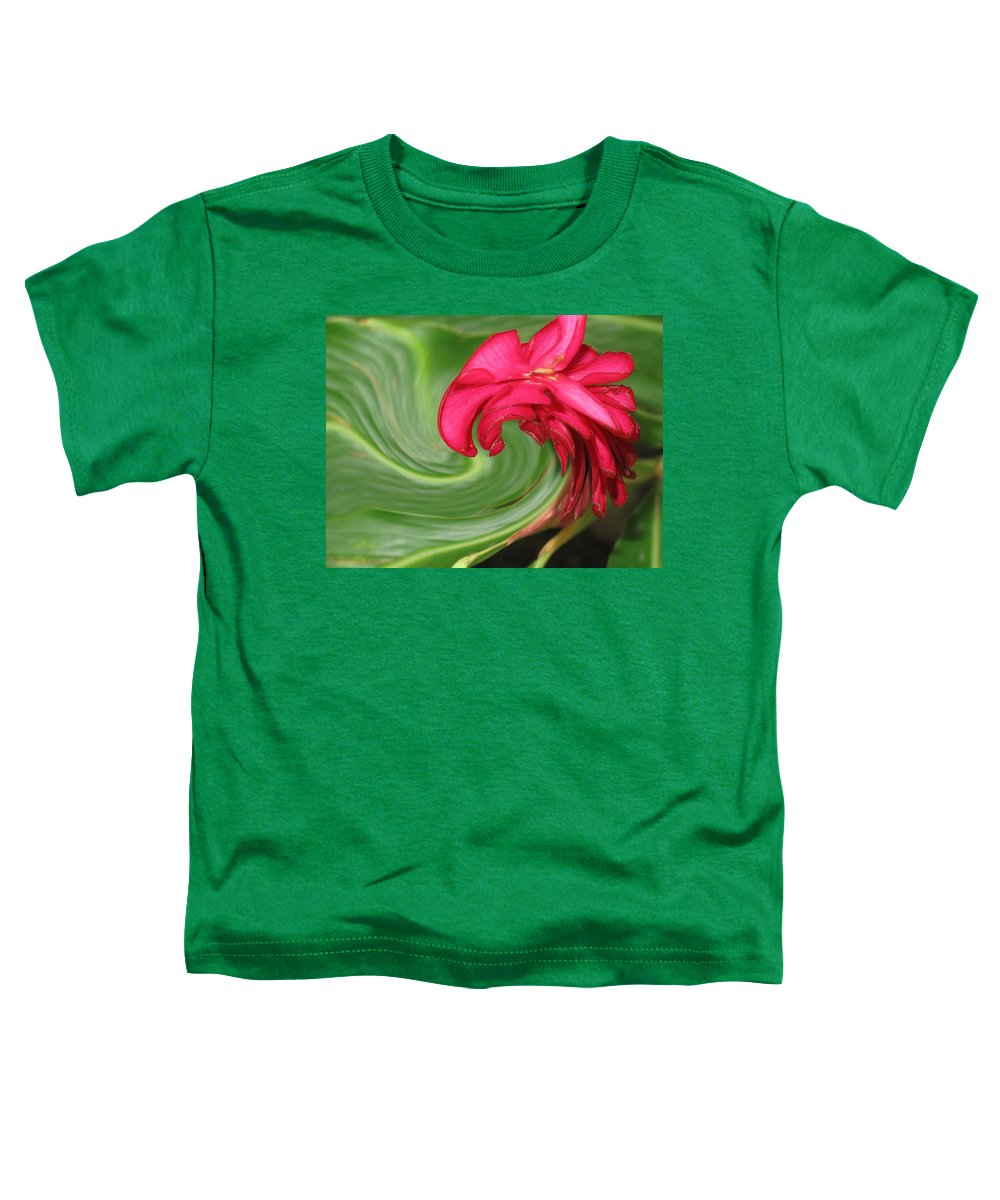 Flower Toddler T-Shirt featuring the photograph Come To Me by Ian MacDonald