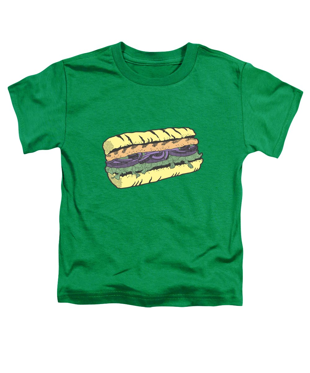 Food And Beverage Toddler T-Shirts
