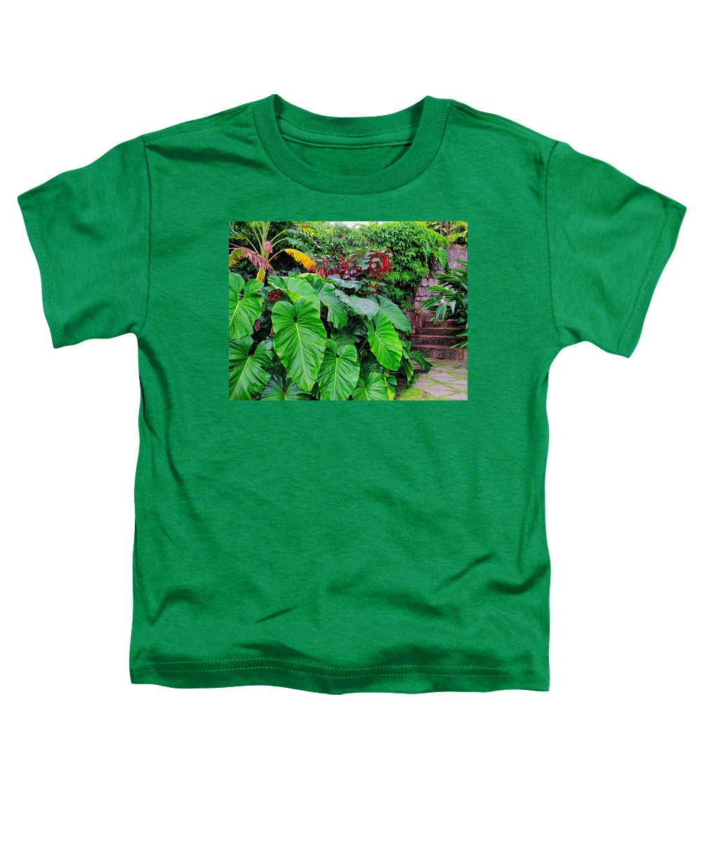 Lush Toddler T-Shirt featuring the photograph Romney Steps by Ian MacDonald