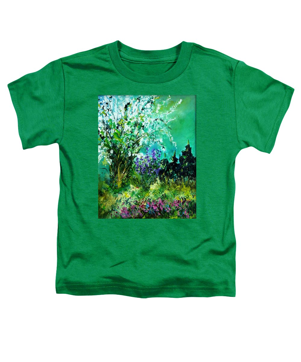 Tree Toddler T-Shirt featuring the painting Seringa by Pol Ledent