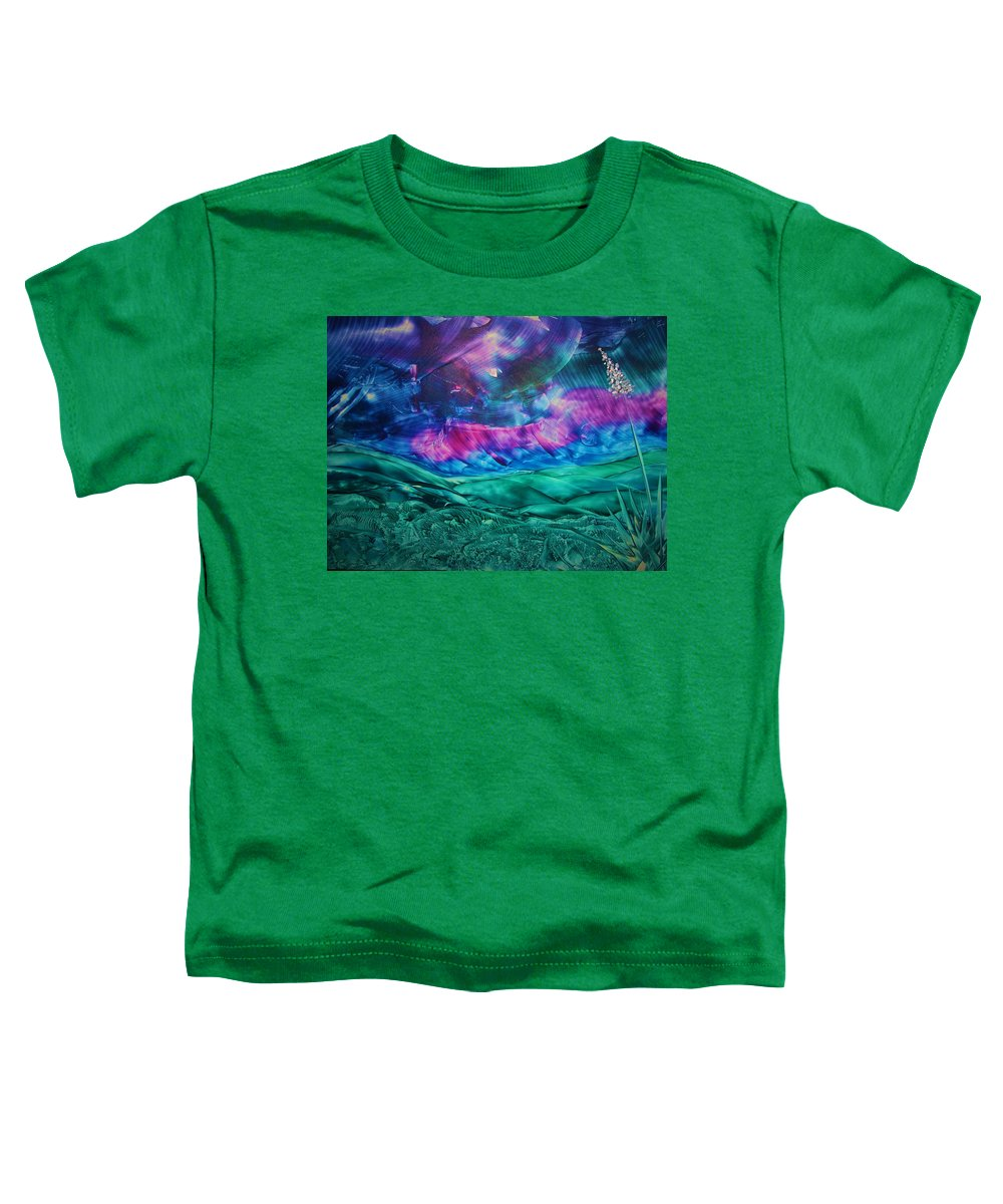 Desert Toddler T-Shirt featuring the print Sierra Vista by Melinda Etzold
