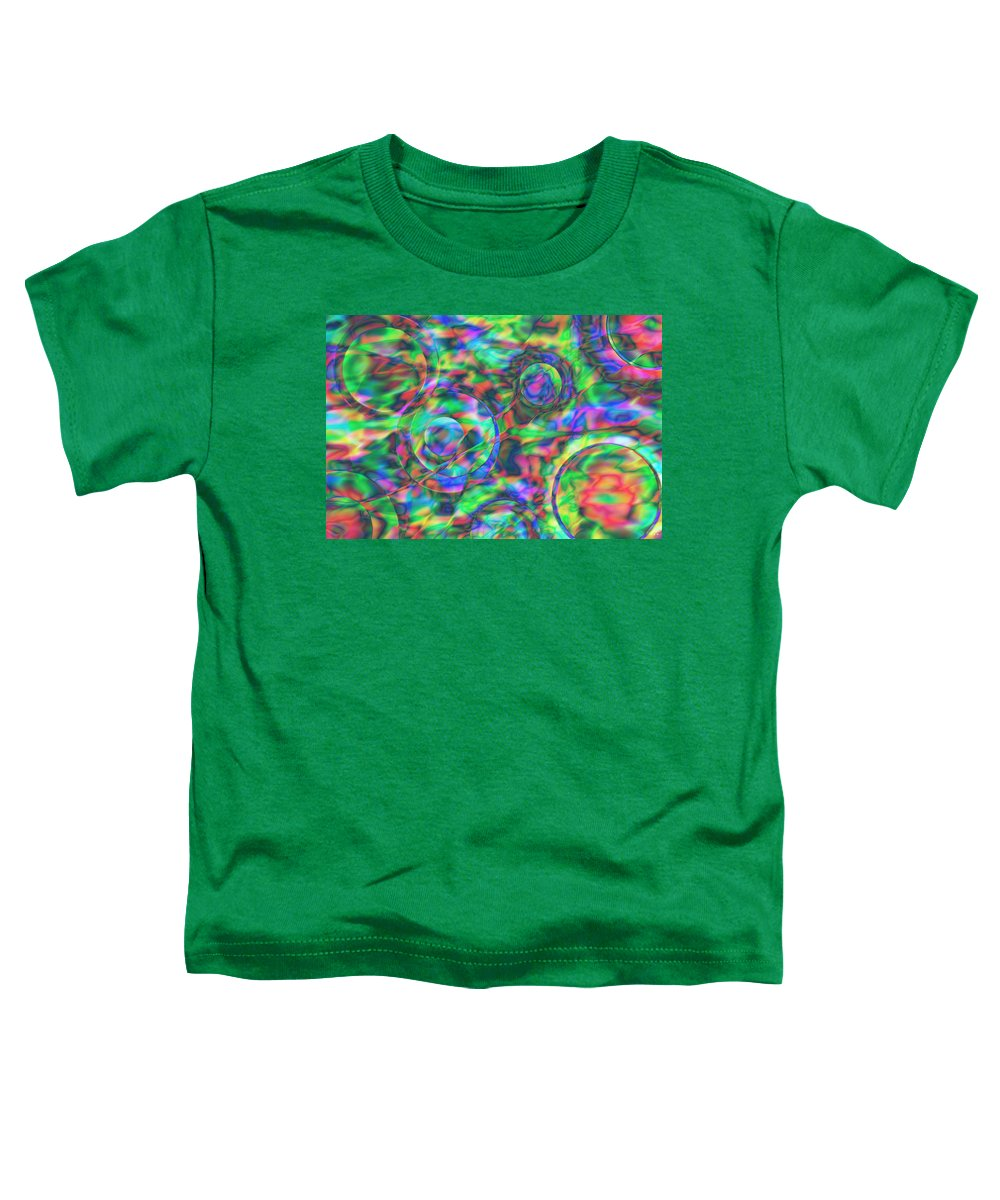 Colors Toddler T-Shirt featuring the digital art Vision 28 by Jacques Raffin