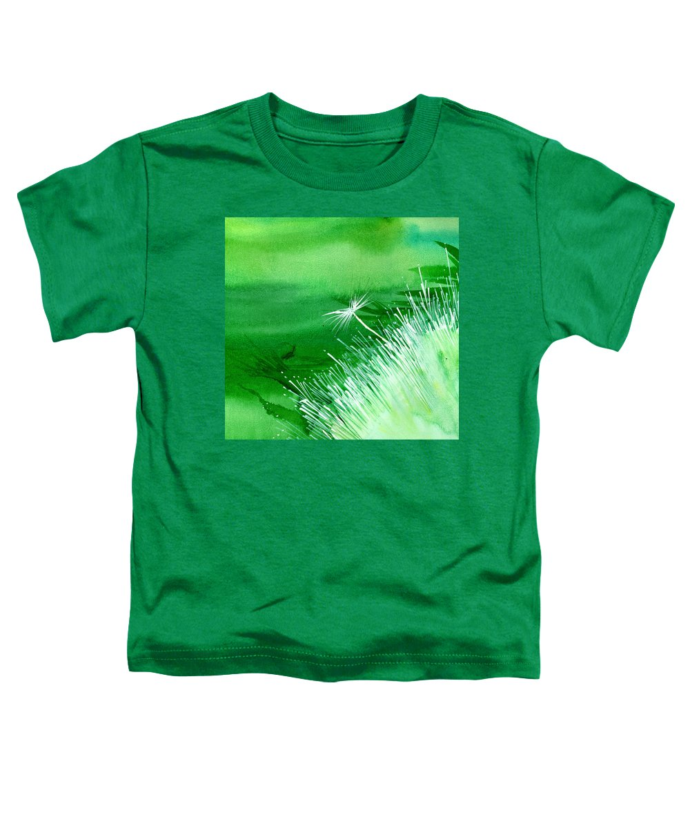Flowers Toddler T-Shirt featuring the painting White Flower by Anil Nene