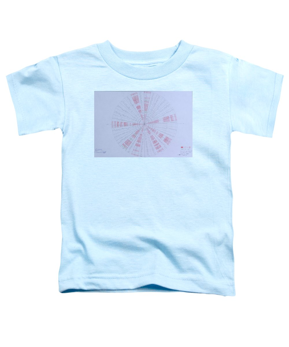 Prime Toddler T-Shirt featuring the drawing Prime Number Pattern P Mod 30 by Jason Padgett