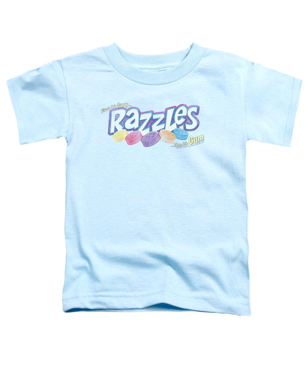 Dubble Bubble Toddler T-Shirt featuring the digital art Dubble Bubble - Distressed Logo by Brand A