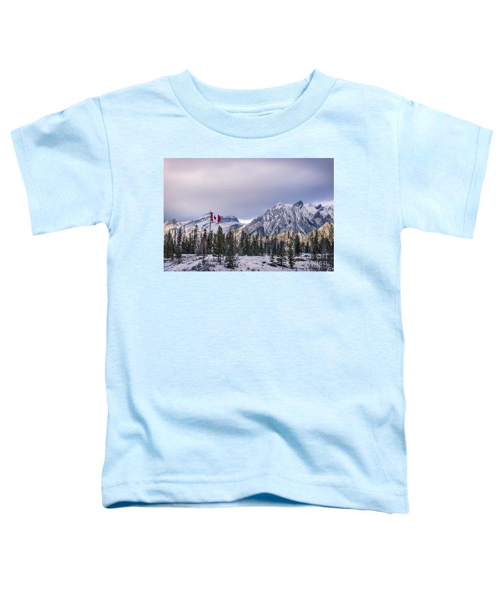 Kremsdorf Toddler T-Shirt featuring the photograph Ageless Northern Spirit by Evelina Kremsdorf