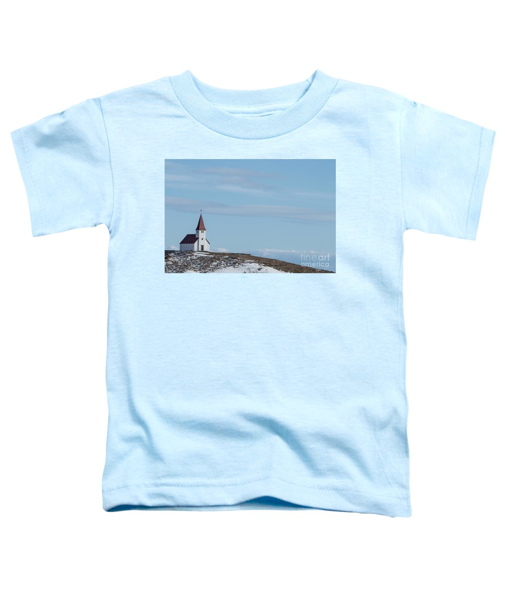 Vik Toddler T-Shirt featuring the photograph Higher Believes by Evelina Kremsdorf