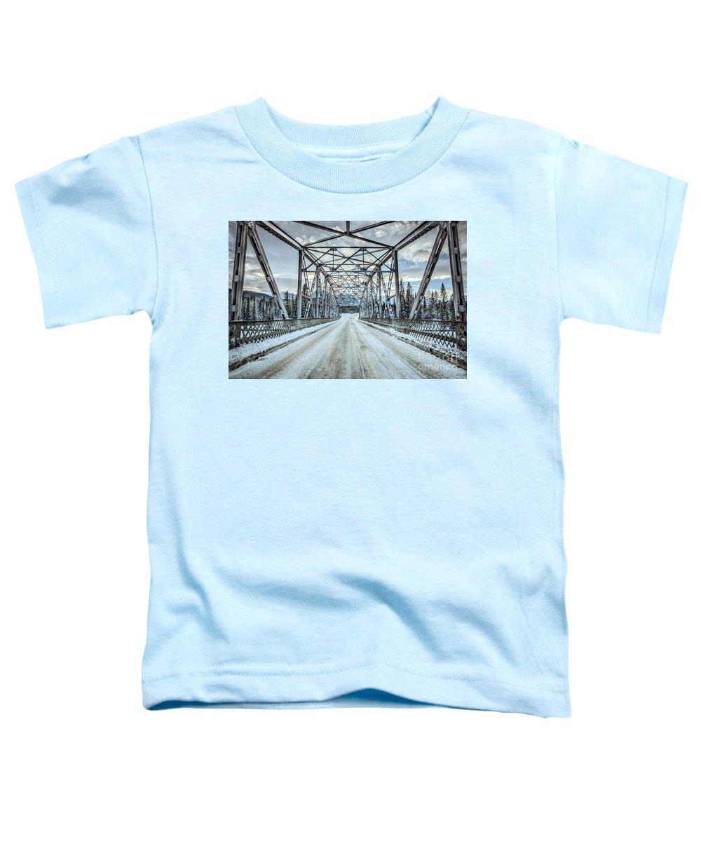 Banff Toddler T-Shirt featuring the photograph If Destined by Evelina Kremsdorf