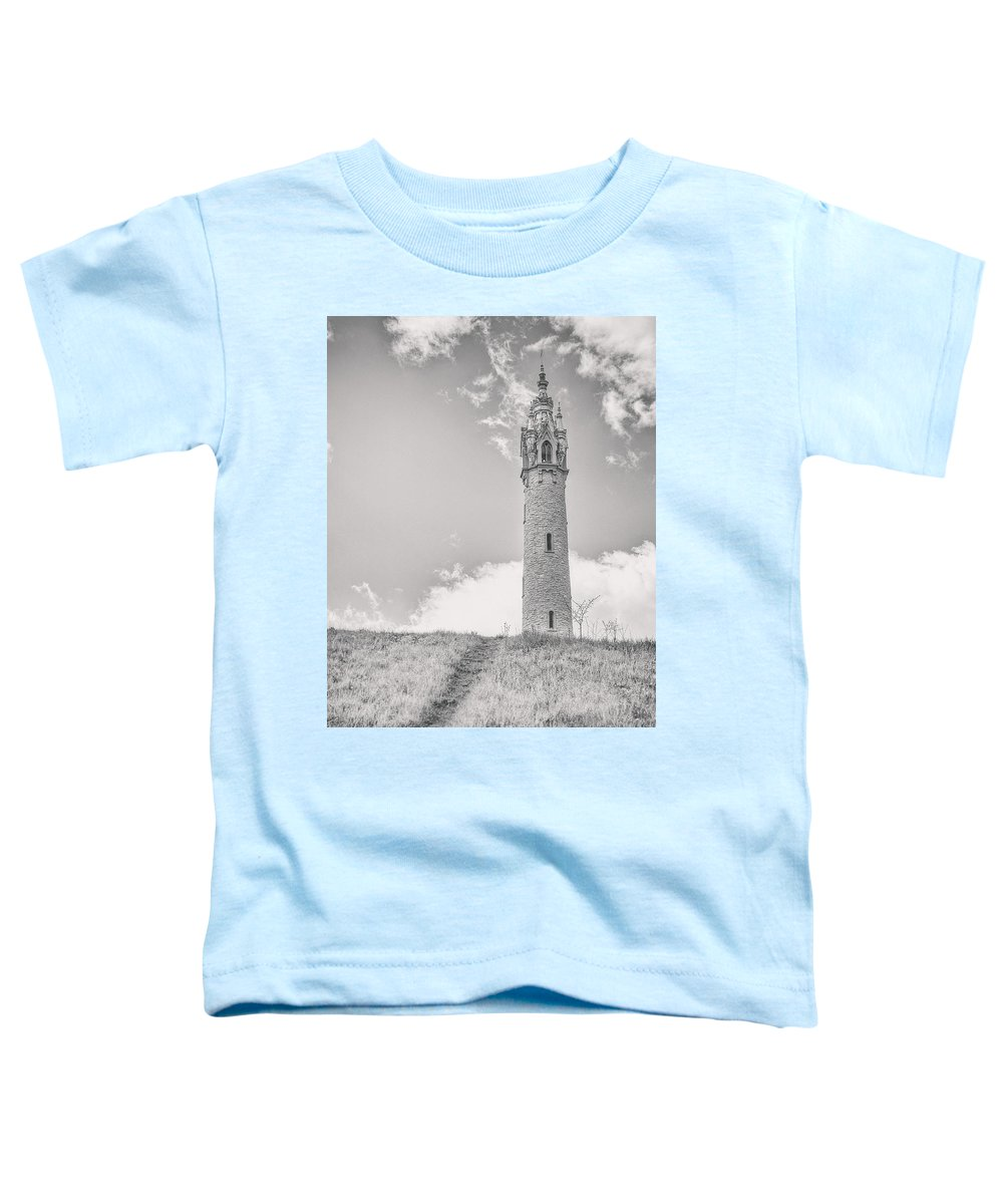 Castle Toddler T-Shirt featuring the photograph The Castle Tower by Scott Norris
