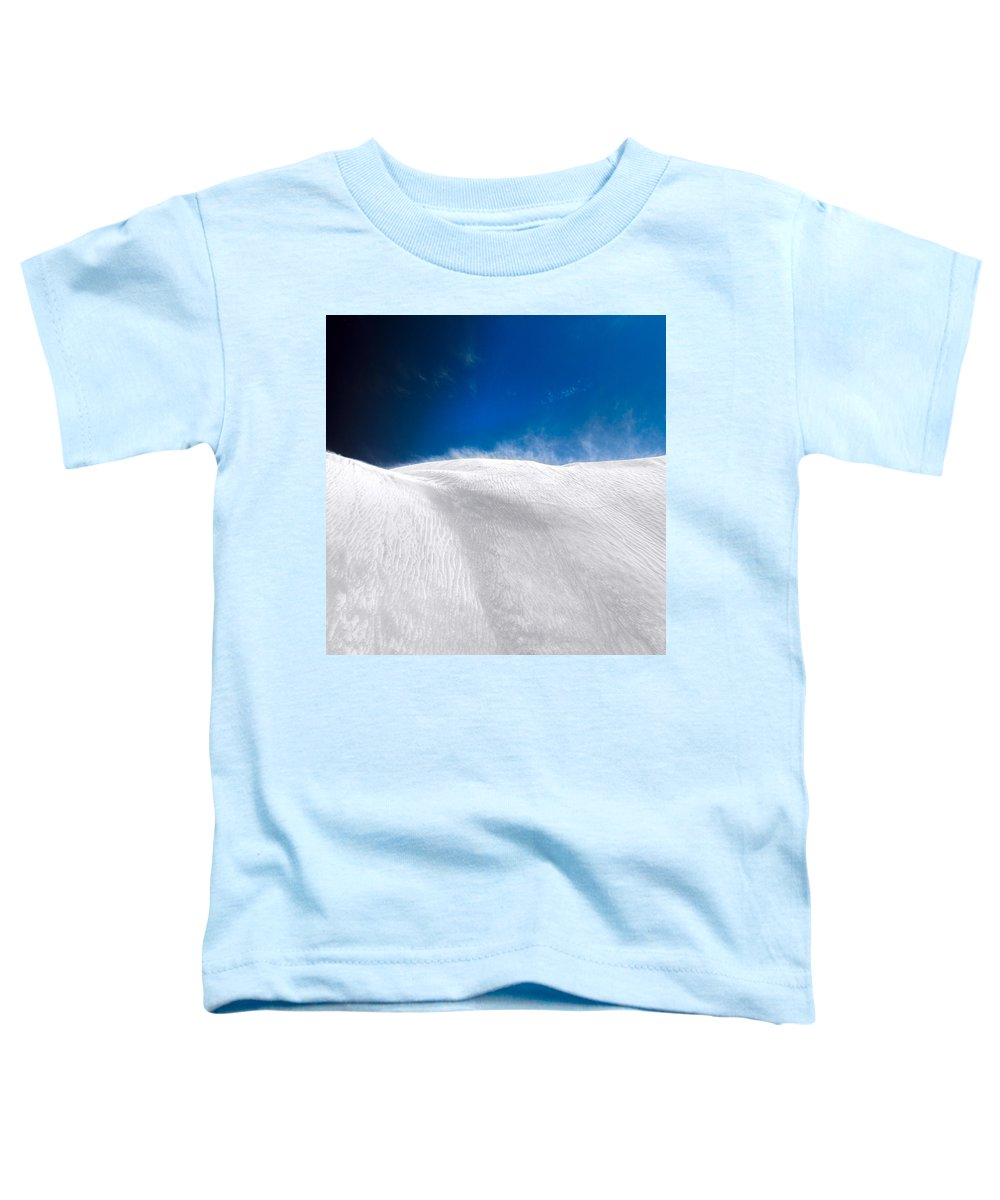 White Sands Toddler T-Shirt featuring the photograph White Sands Desert by Julian Cook
