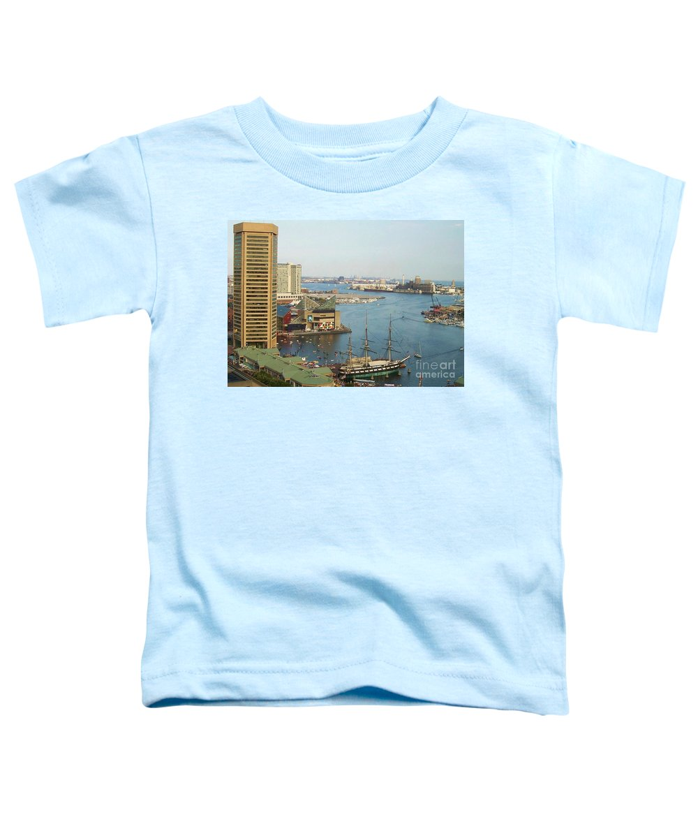 Baltimore Toddler T-Shirt featuring the photograph Baltimore by Debbi Granruth