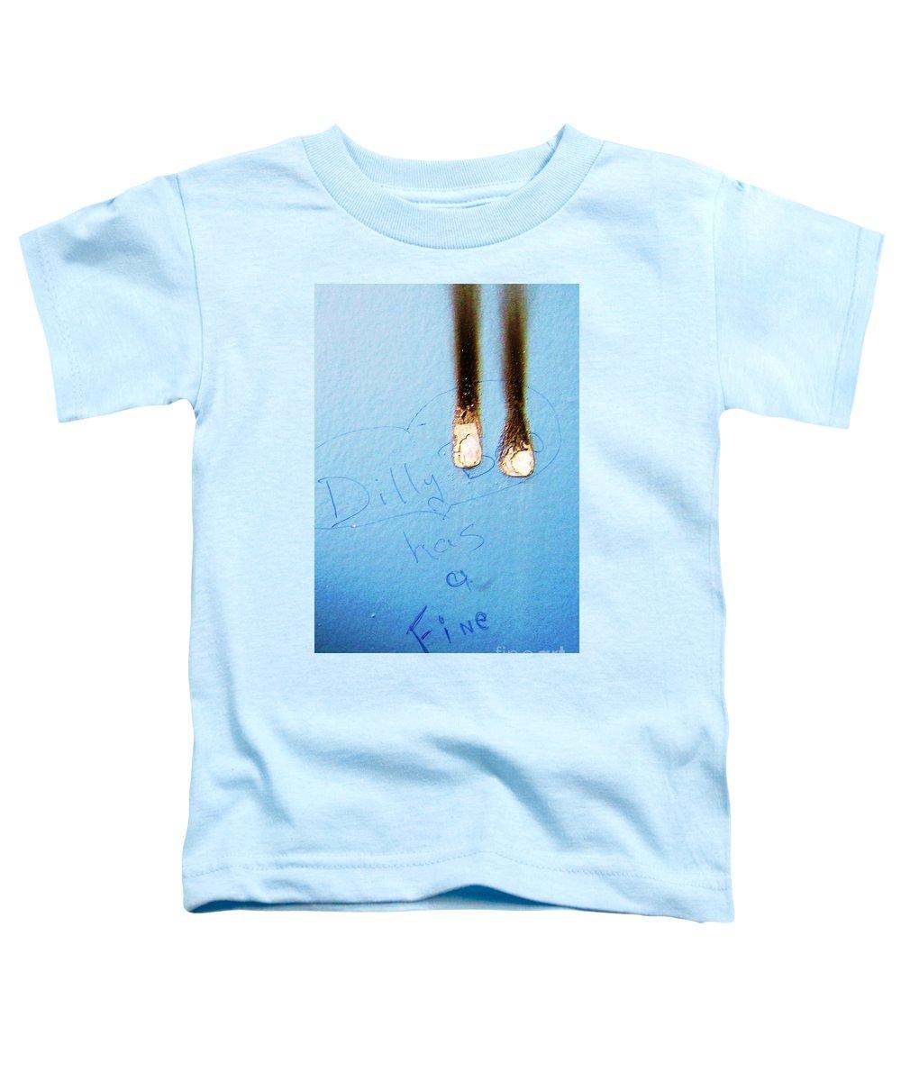 Photograph Fine Ass Blue Toddler T-Shirt featuring the photograph Fine Ass by Seon-Jeong Kim