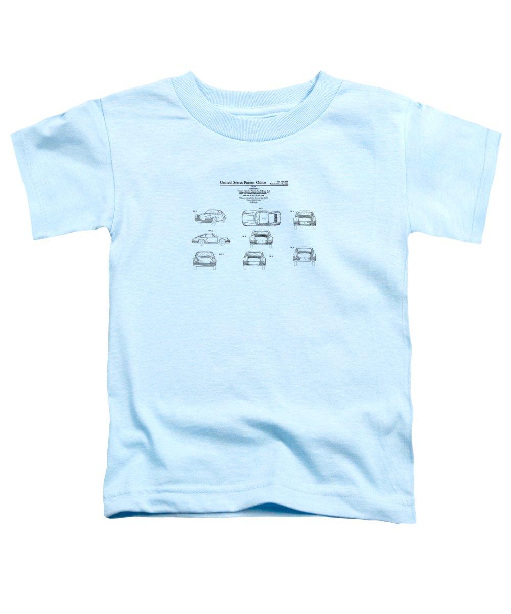 Sports Car Toddler T-Shirts