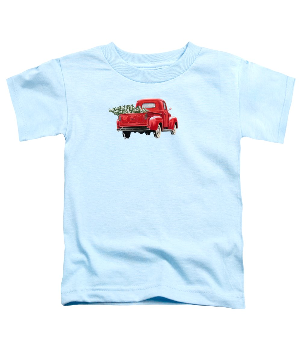 Green Tree Toddler T-Shirts