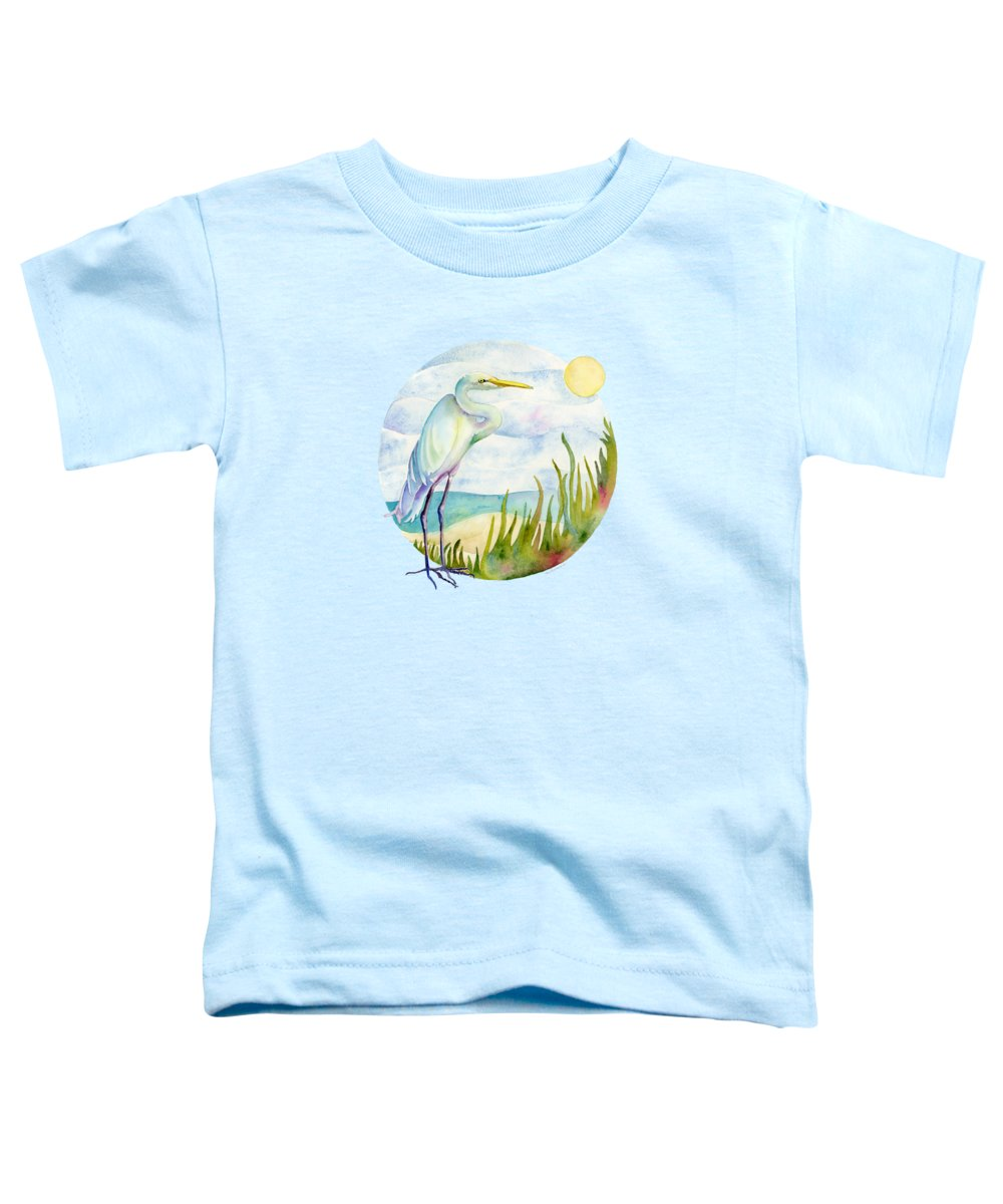 Egret Toddler T-Shirts