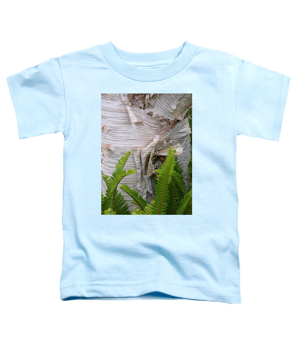 Tree Toddler T-Shirt featuring the photograph Birch Fern by Gale Cochran-Smith