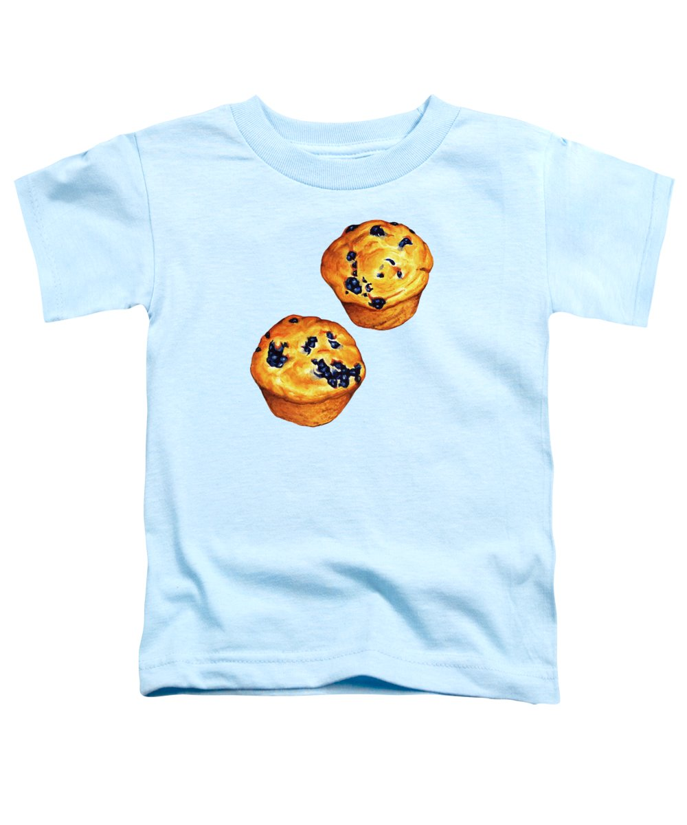 Blueberry Toddler T-Shirts