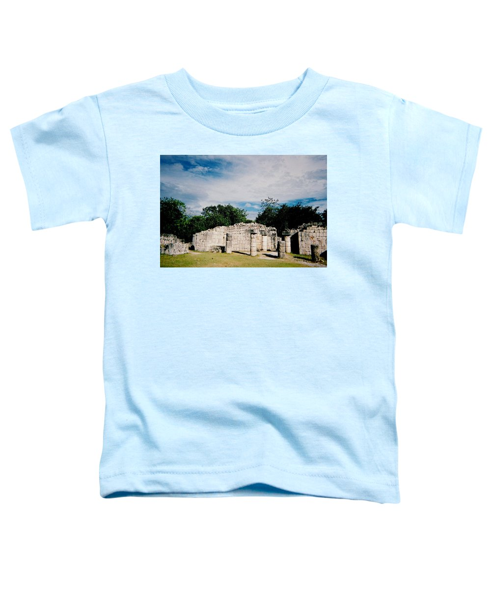 Chitchen Itza Toddler T-Shirt featuring the photograph Chichen Itza 2 by Anita Burgermeister