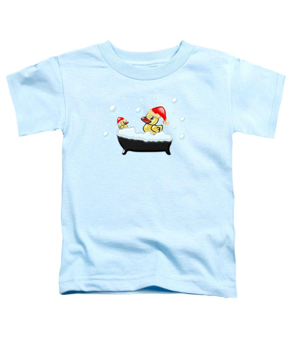 Bright Mixed Media Toddler T-Shirts