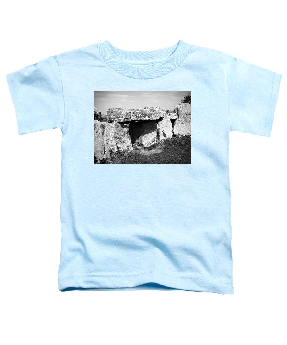 Ireland Toddler T-Shirt featuring the photograph Creevykeel Court Cairn County Sligo Ireland by Teresa Mucha