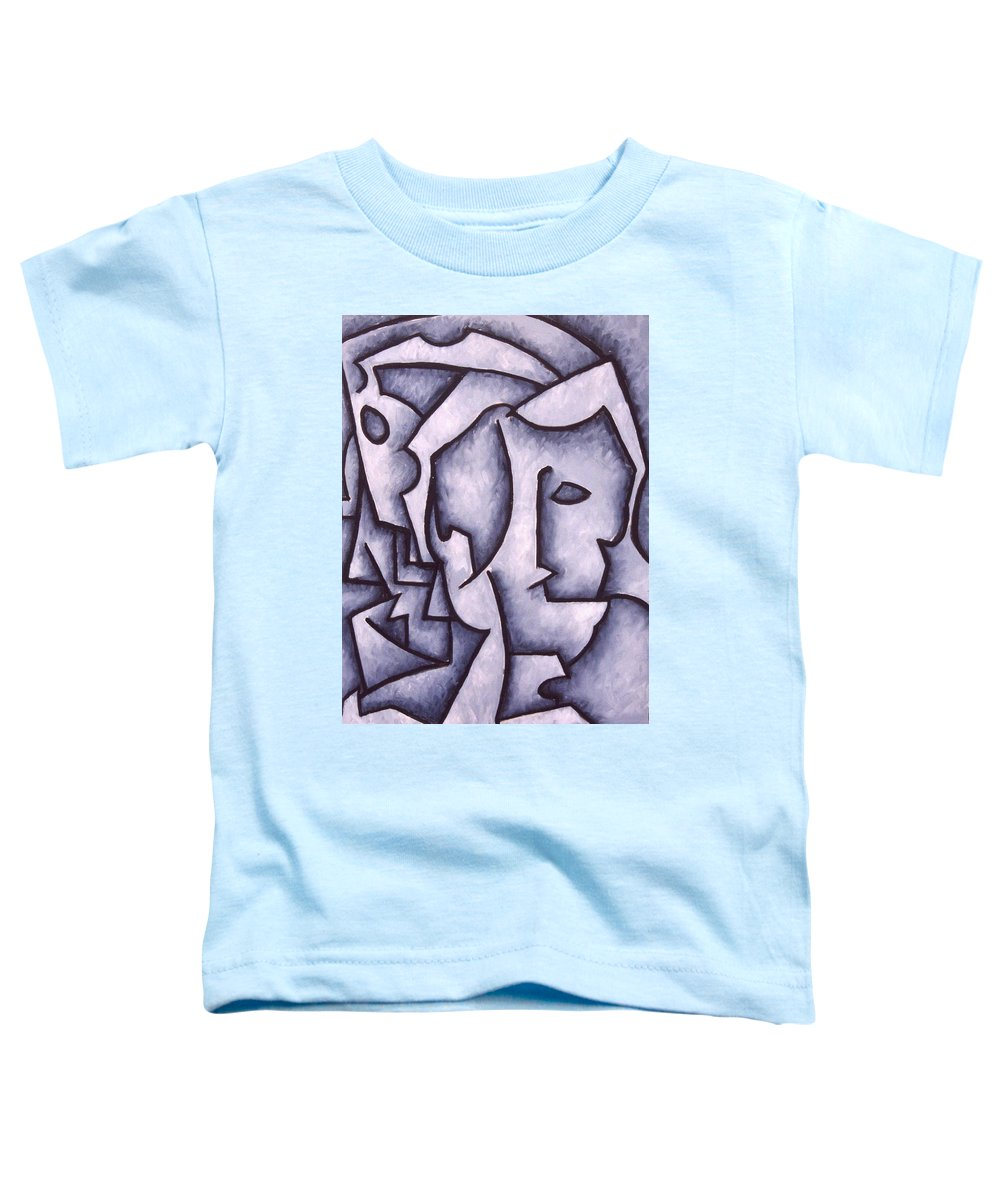 Abstract Toddler T-Shirt featuring the painting David by Thomas Valentine