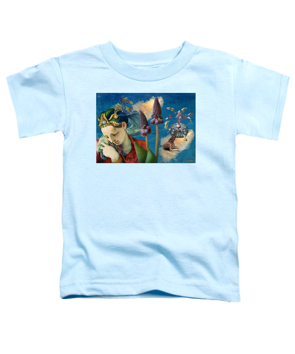 Dreamscape Toddler T-Shirt featuring the digital art Day Dreams by Laura Botsford