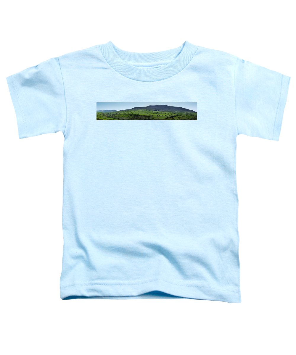 Irish Toddler T-Shirt featuring the photograph Dingle Peninsula Panorama Ireland by Teresa Mucha