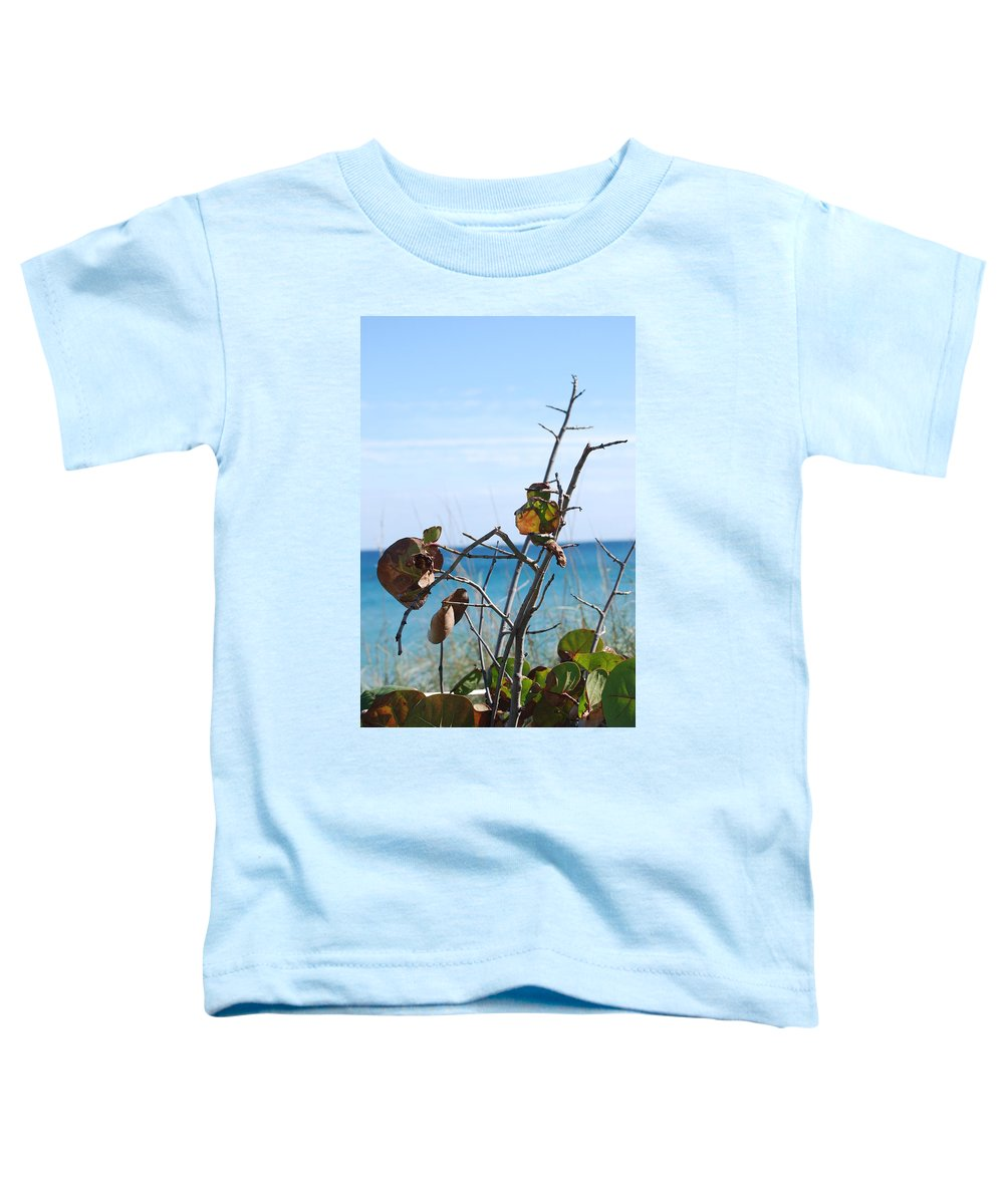 Ocean Toddler T-Shirt featuring the photograph Dune Plants by Rob Hans