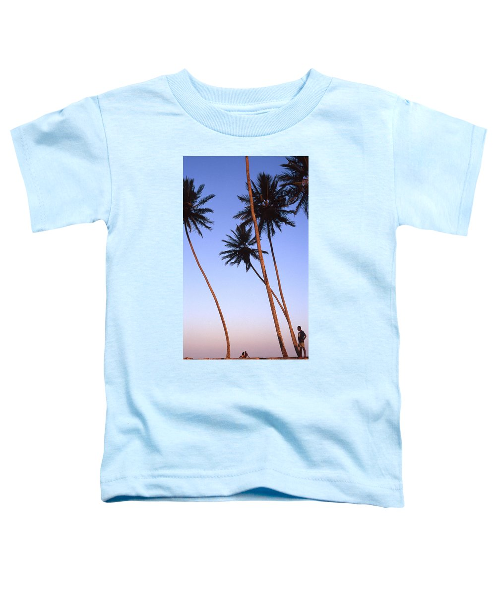 Bahia Toddler T-Shirt featuring the photograph Dusk In Morro by Patrick Klauss