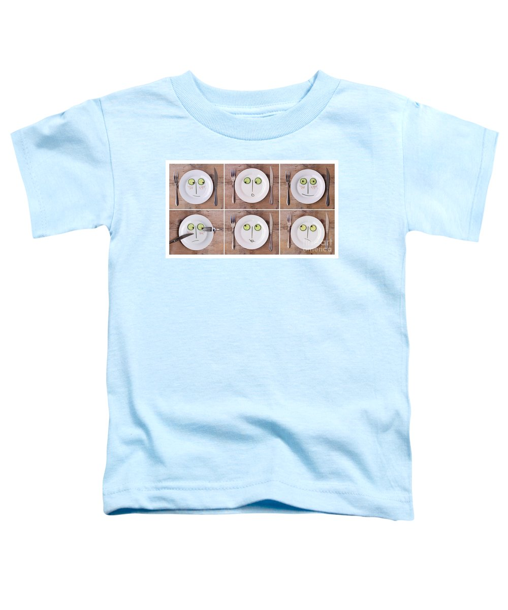 Aromatic Toddler T-Shirt featuring the photograph Emotions 02 by Nailia Schwarz