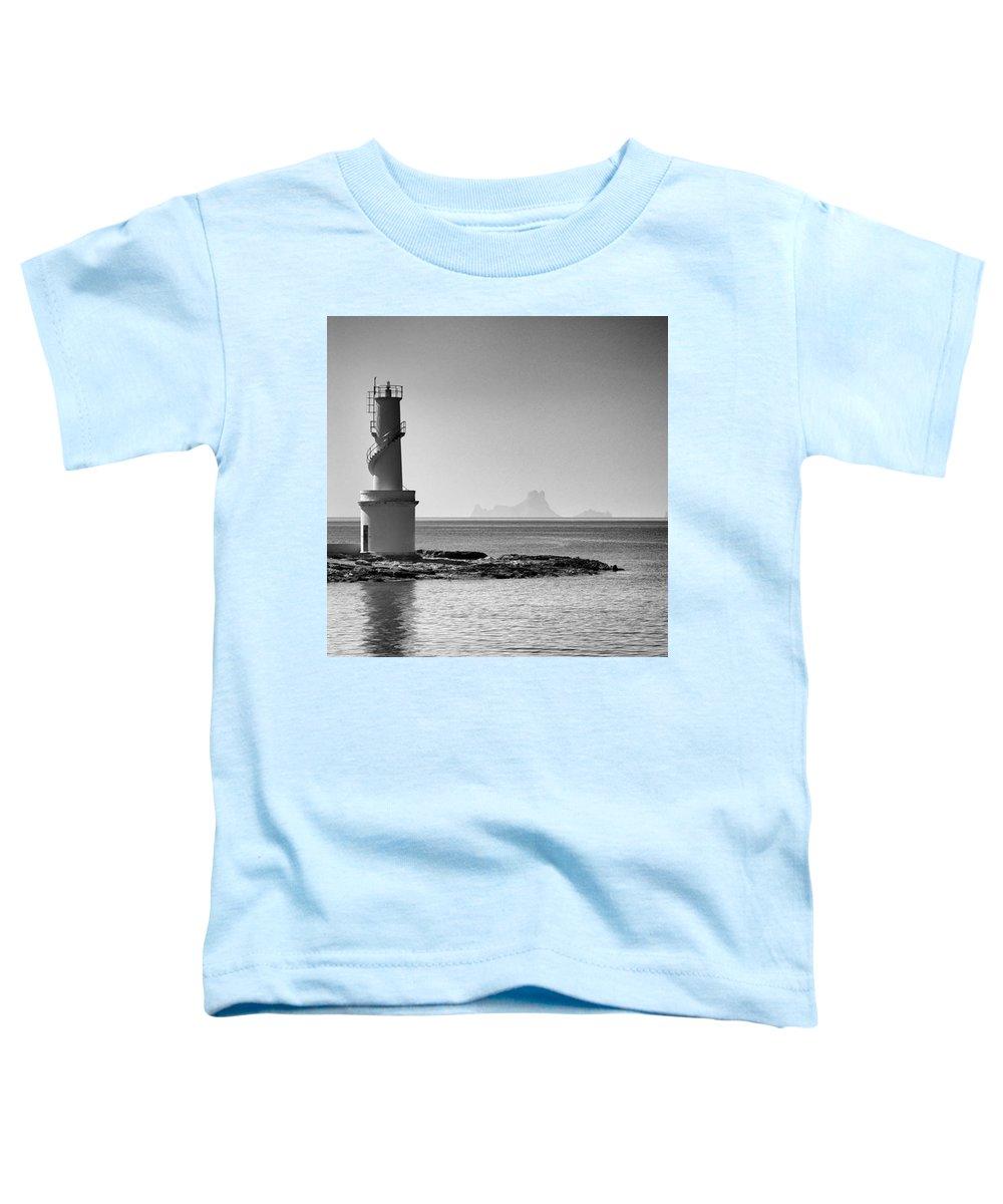 Balearics Toddler T-Shirt featuring the photograph Far De La Savina Lighthouse, Formentera by John Edwards