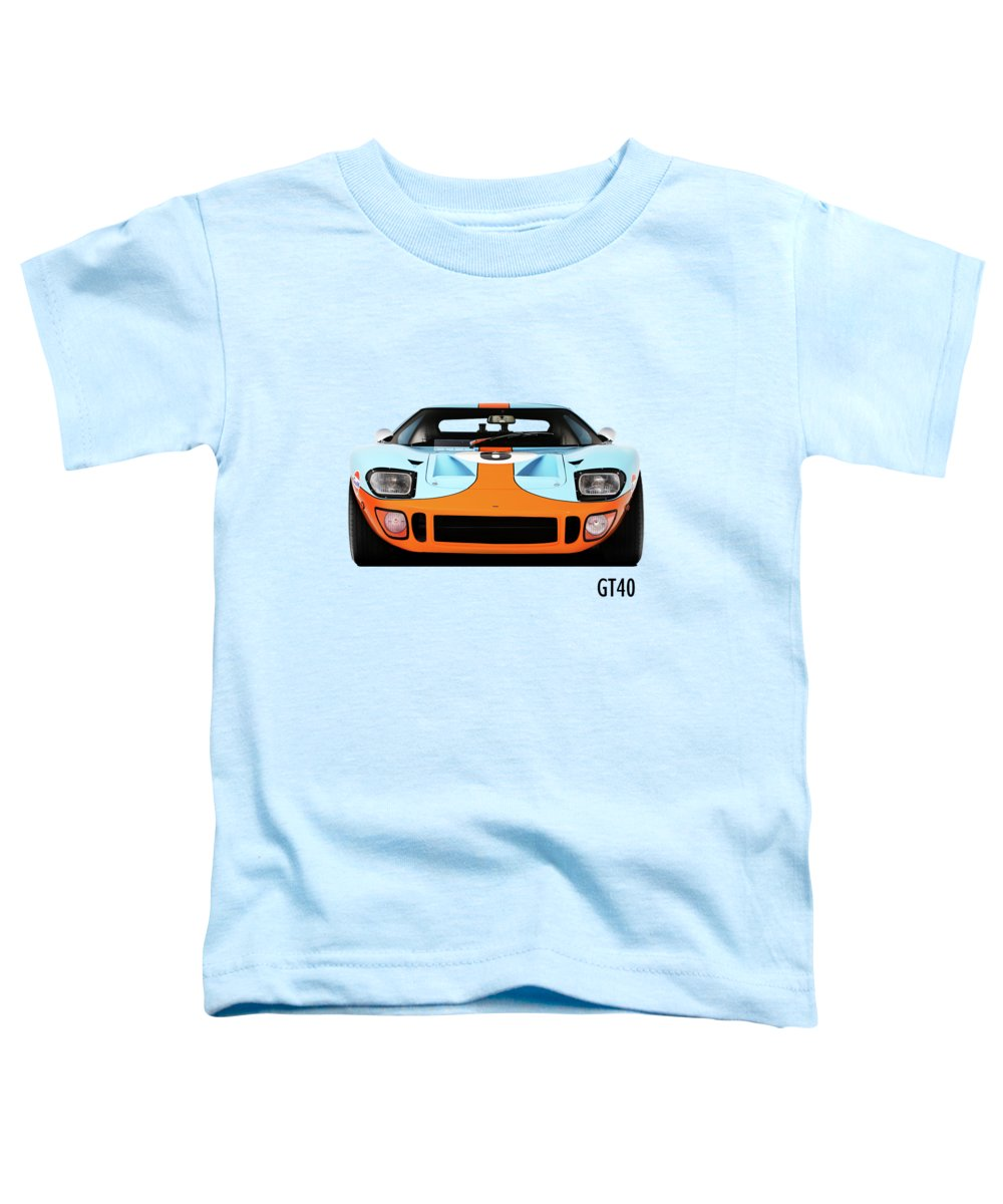Car Toddler T-Shirt featuring the photograph Ford Gt40 Mk 1 by Mark Rogan