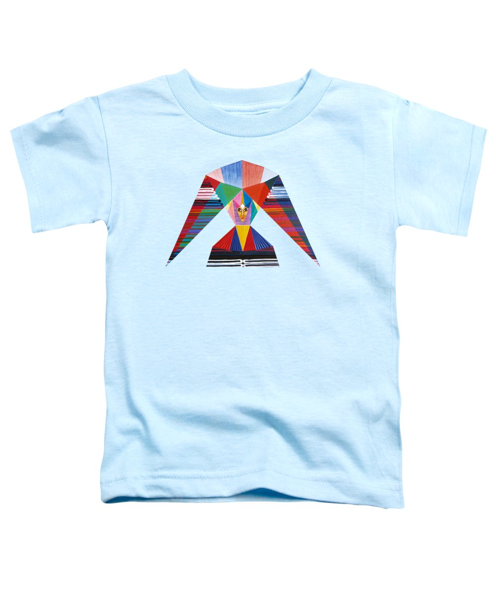Contemporaryart Toddler T-Shirt featuring the painting Gladness by Michael Bellon