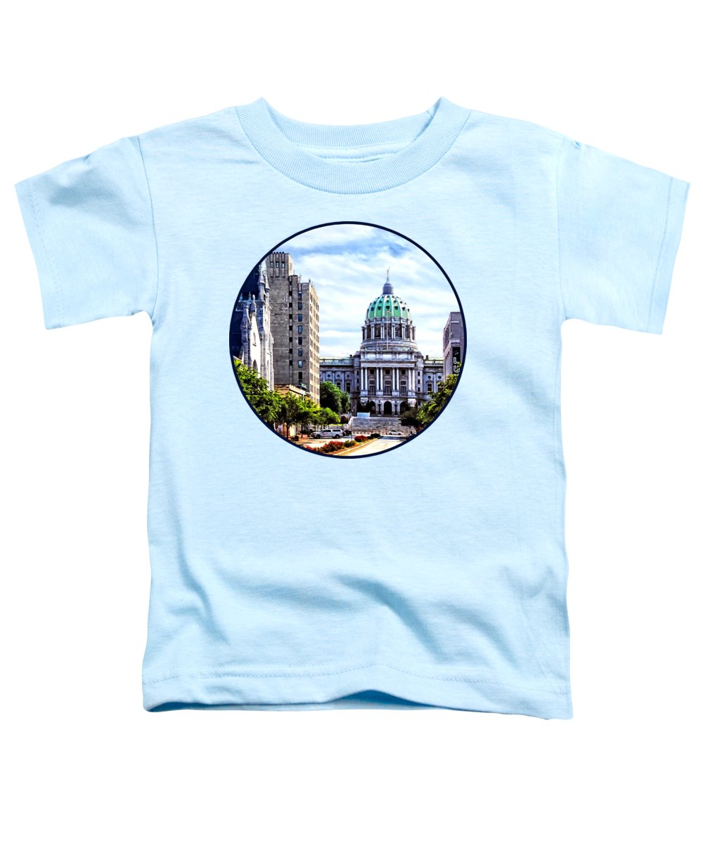 Capitol Building Toddler T-Shirts