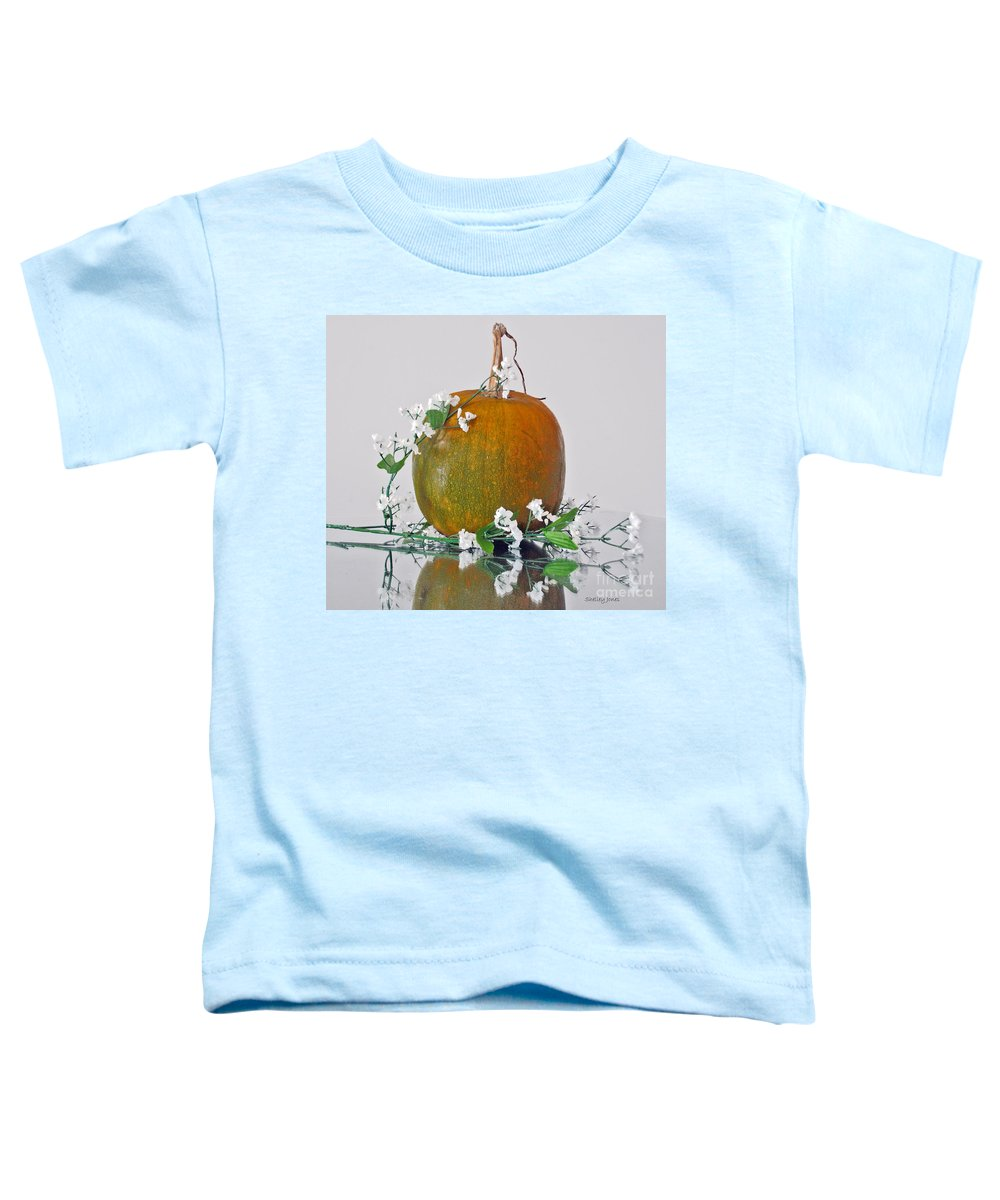 Photography Toddler T-Shirt featuring the photograph Harvest by Shelley Jones
